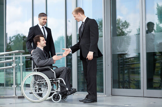 Disabled employees Benefit in kind for a wheelchair?