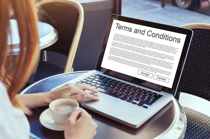 Being Ripped Off Again….. Terms and Conditions